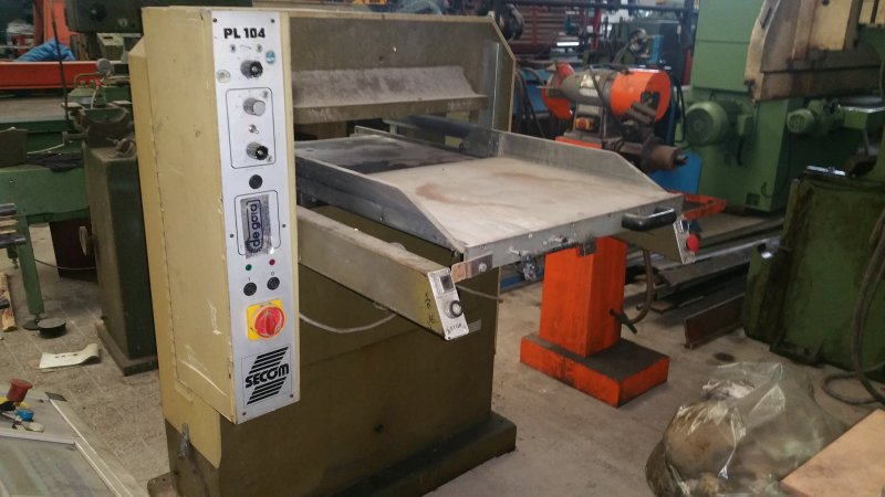 PLATTING MACHINE PL 104